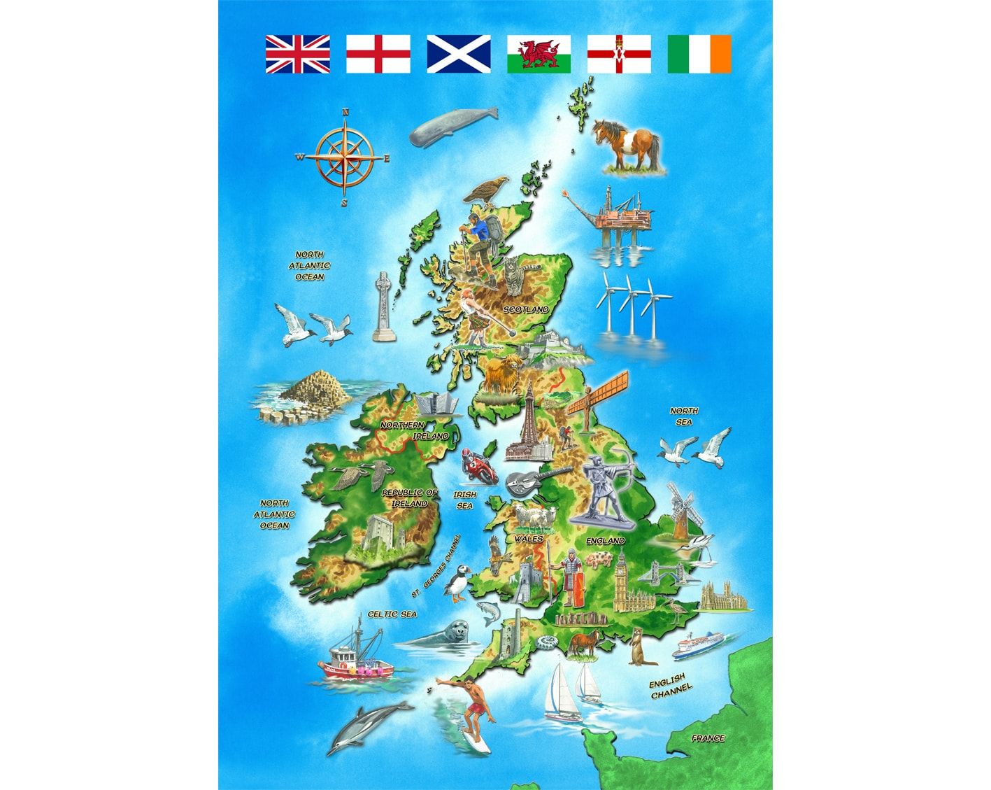 Interactive Jigsaw Map Of Ireland.I Know My Map Of The British Isles