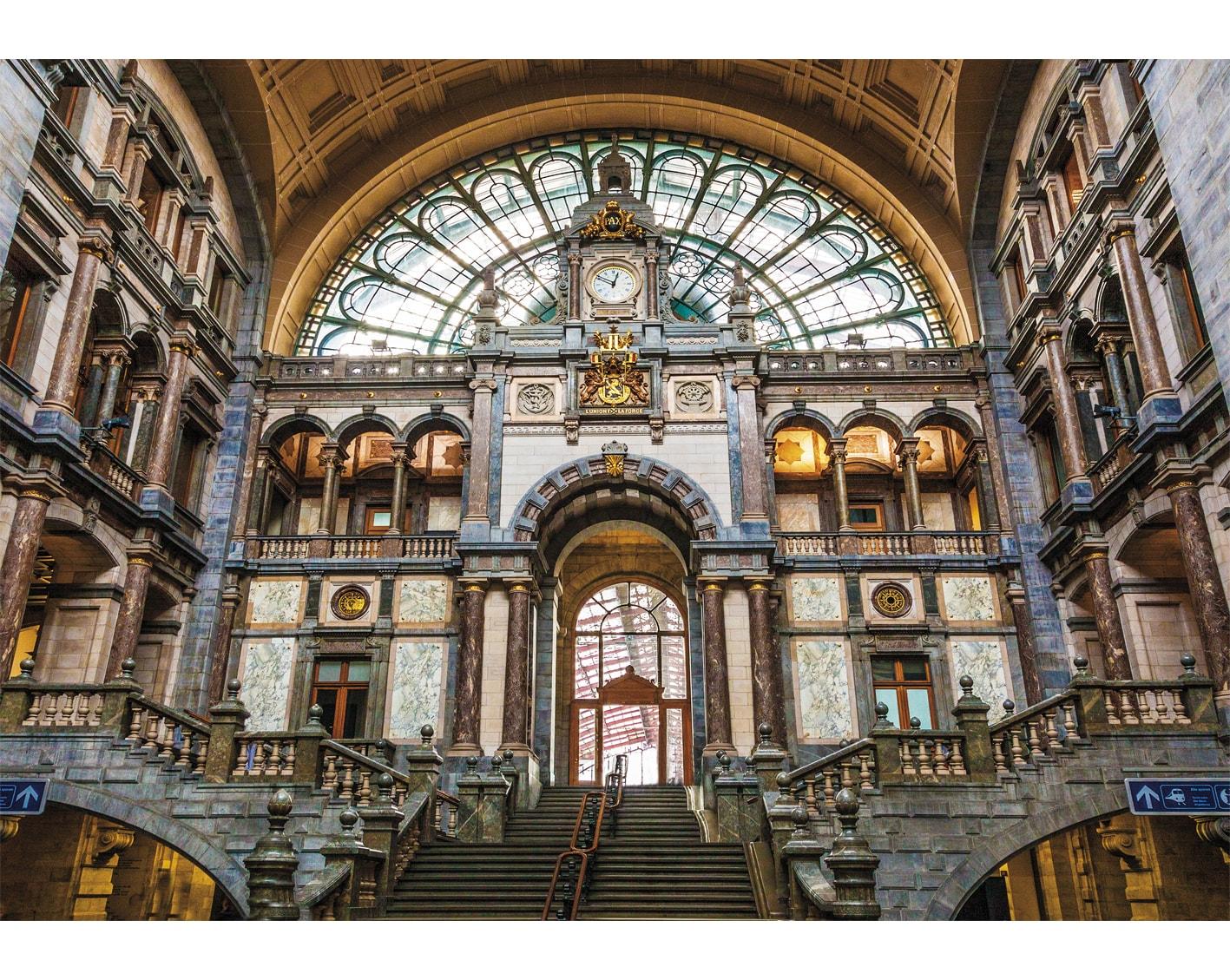 Antwerpen Centraal Railway Station Belgium
