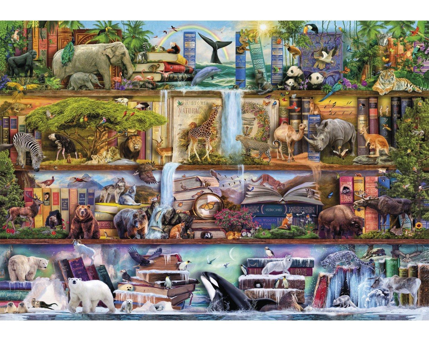 The Amazing Animal Kingdom Animals Nature Jigsaw Puzzles