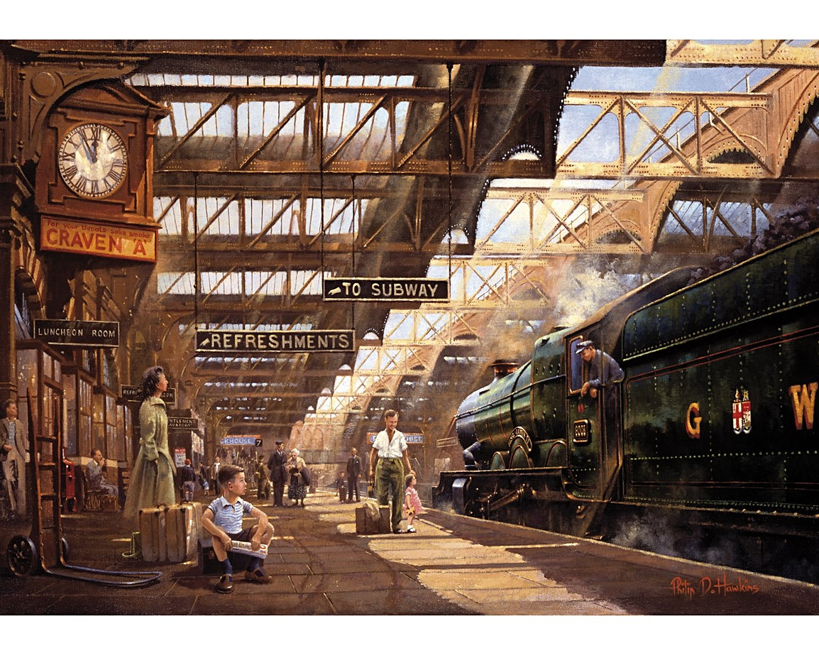 Jigsaw Puzzle Gifts For Train Spotters Wentworth Wooden Puzzles