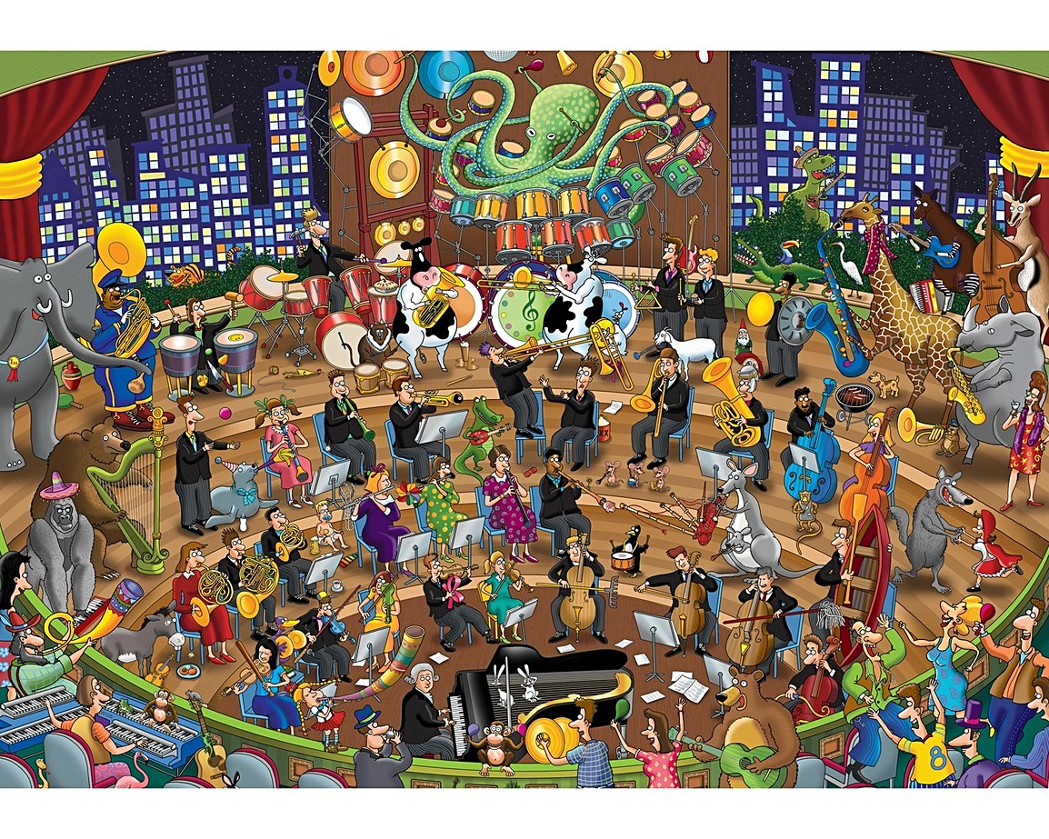 Weird and Wonderful Jigsaw Puzzles | Wentworth Wooden Puzzles