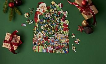 Christmas Jigsaw Puzzles.Winter Christmas Jigsaw Puzzles