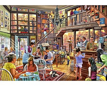 3043961abe63 Wish Upon a Bookshop All Wooden Jigsaw Puzzles